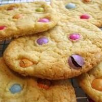 Smarties cookies recipe