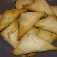 Phyllo Wrapped Crab And Brie Recipe