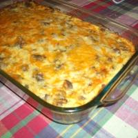 Sausage And Green Pepper Breakfast Casserole Recipe