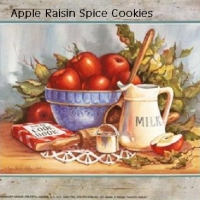 Image of Apple Raisin Spice Cookies Recipe, Group Recipes