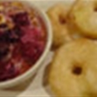 Image of Apple Fritters With Blackberries And Mascarpone Cream Recipe, Group Recipes