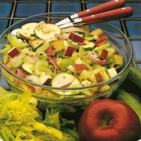 Image of Apple-zucchini Salad Recipe, Group Recipes