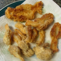 Fried Morel Mushrooms