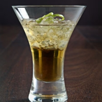 Image of Amaretto Lime And Shaved Ice Recipe, Group Recipes