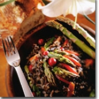 Image of Asparagus Tapas And Red Pepper Sauce Recipe, Group Recipes