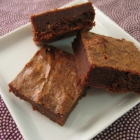 Image of Almost Fudge Brownies Recipe, Group Recipes
