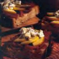 Image of Apple Goat Cheese And Prosciutto Burschetta Recipe, Group Recipes