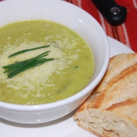 Image of A Super Fresh Asparagus Soup Recipe, Group Recipes