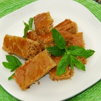 Image of Applesauce Bars With Orange Glaze Recipe, Group Recipes