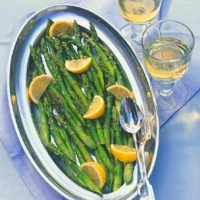 Image of Asparagus With Raspberry Vinaigrette Recipe, Group Recipes