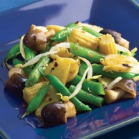 Image of Asian Green Bean Stir-fry Recipe, Group Recipes