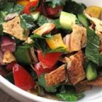 Image of Authentic Lebanese Fattoush Recipe, Group Recipes
