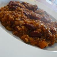 Image of Spicy Multi-grain Chili Recipe, Group Recipes
