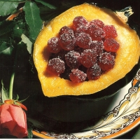 Image of Acorn Squash With Sugar-coated Cranberries Recipe, Group Recipes