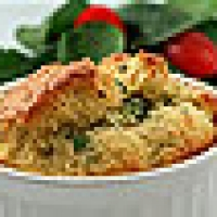 Image of Amandas Chipotle Bleu Cheese And Cheddar Souffle Recipe, Group Recipes