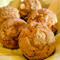 Image of Apple Carrot Muffins Low Fat Recipe, Group Recipes