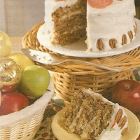 Image of Autumn Apple Cake Recipe, Group Recipes