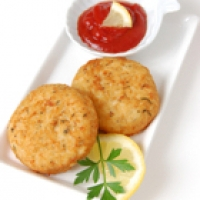 Image of Crab And Shrimp Cakes Recipe, Group Recipes