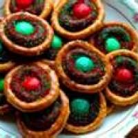 Chocolate Pretzel Rings Recipe