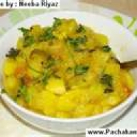 Image of Allo Bhujiadry Dry Potato Curry Indian Style Recipe, Group Recipes