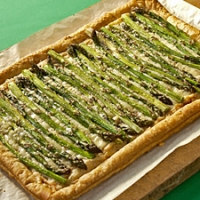 Image of Asparugus Gruyere Tart Recipe, Group Recipes