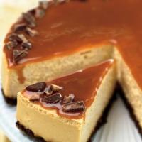 Toffee Crunch Caramel Cheesecake Recipe