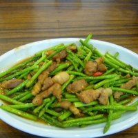 Image of Asparagus Stir Fry With Pork Recipe, Group Recipes