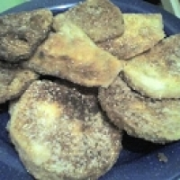 Image of Gluten-free Fried Eggplant Recipe, Group Recipes