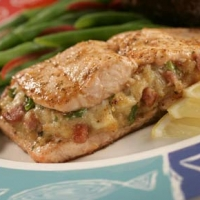 Image of Baked Stuffed Tilapia Recipe, Group Recipes