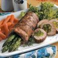 Image of Asparagus Stuffed Pork Tenderloin Recipe, Group Recipes