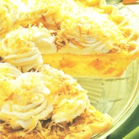 Image of Apricot Coconut Cream Pie Recipe, Group Recipes