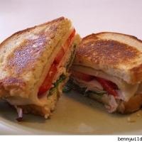 Turkey Cobb Melt Sandwich Recipe