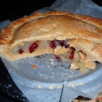 Image of Apple Craisin Pie At Midnight Recipe, Group Recipes