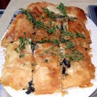 Farro Or Barley Mushroom Pie Recipe