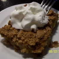 Image of Apple Cake With Brown Sugar Topping Recipe, Group Recipes