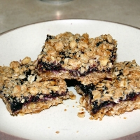 Image of Almost Starbucks Blueberry Oat Bars Recipe, Group Recipes