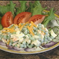 Leisure Pea Salad Recipe