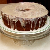 Image of Applesauce Ambrosia Cake Recipe, Group Recipes