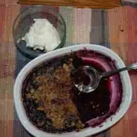 Image of Aunty Maes Blueberry Cobbler Recipe, Group Recipes