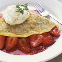 Image of All Strawberry And Ricotta Crpe Recipe, Group Recipes