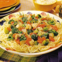Image of Angel Hair Pasta With Chicken Recipe, Group Recipes