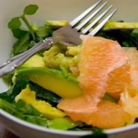 Image of Avocado Grapefruit Salad Recipe, Group Recipes