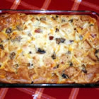 and cheese strata recipe overnight egg strata recipe yummly egg strata ...