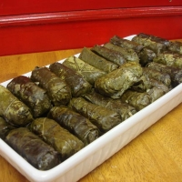 Jordanian Stuffed Grape Leaves Recipe