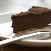 Image of Amaretto Chocolate Truffle Torte Recipe, Group Recipes