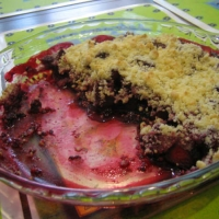Image of Apples And Blackberry Crumble Recipe, Group Recipes