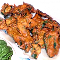 Image of Attack Spinich Pakora Recipe, Group Recipes