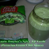 Image of Anniez Spicy Aji Verde Peruvian Green Chili Sauce Recipe, Group Recipes