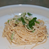 Image of Asparagus And Lemon Cream Pasta Recipe, Group Recipes