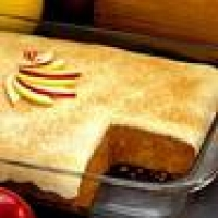 Image of Apple Spice Custard Cake Recipe, Group Recipes